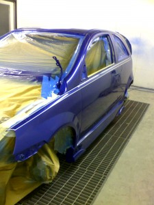 car body spraying