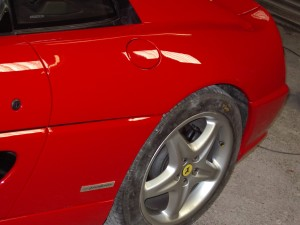 ferrari accident repairs