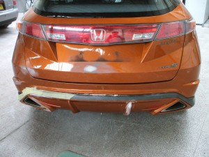 car body work repair