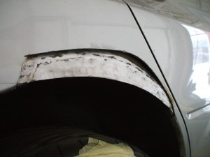 wheel arch rust repair