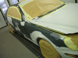 how much is a car respray?