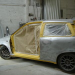 Fiat bare metal respray
