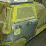 Punto bare metal respray